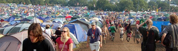 Glastonbury - Picture provided by Andy F, Creative Commons