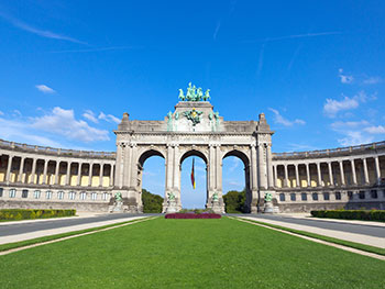 Brussels triumphal arch