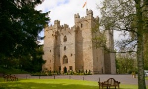 Langley Castle in Northumbria