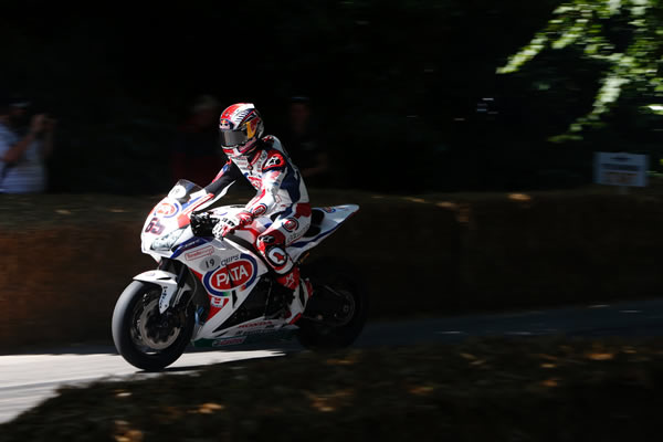 Goodwood Festival of Speed 2014 UK Jonathan Rea © Red Bull Media House