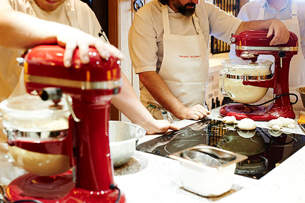 Preparing favourite treats from the Hartnett Holder & Co menu.