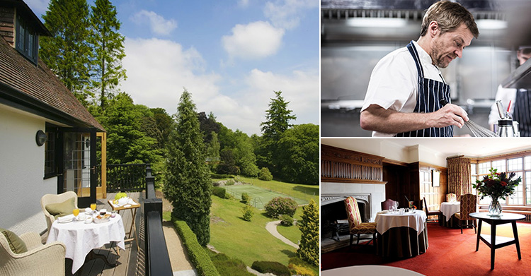 New Chef makes Gidleigh Park Hotel of the Month