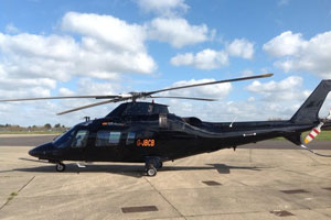 The Agusta 109e part of Atlas Helicopters' fleet