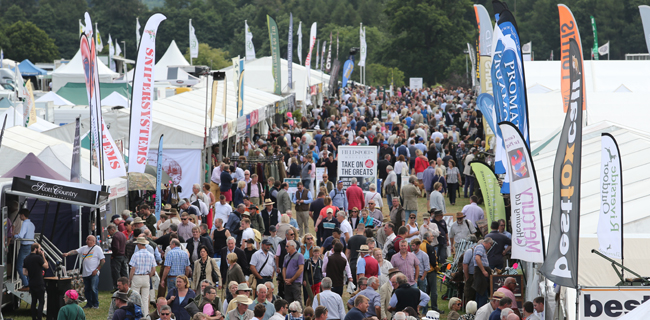 Aiming for the Game Fair at Hatfield House