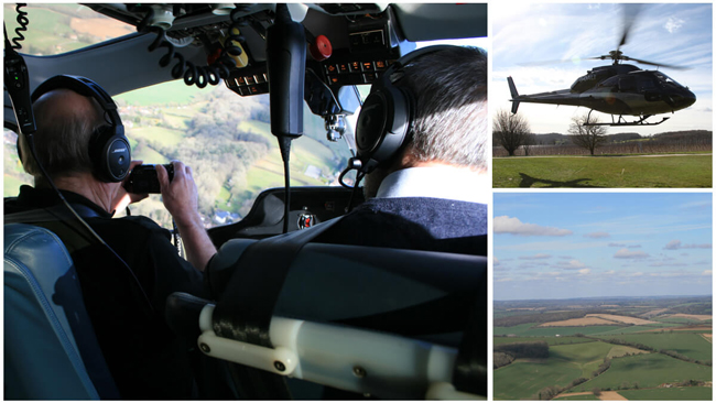 Connoisseur Tour of Hampshire by Helicopter