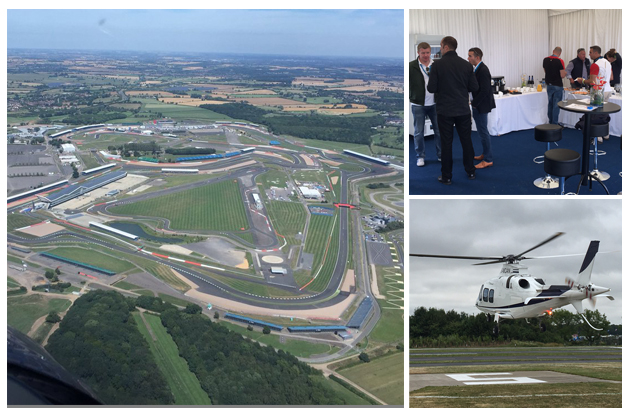 Exclusive VIP Arrivals Lounge and quick flights to Silverstone