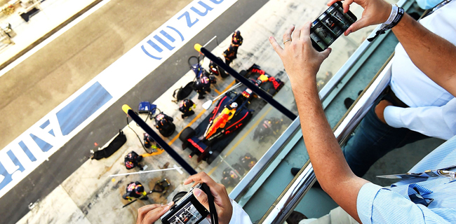 Red Bull Join Silverstone's Paddock Club For The Best Seats On The Circuit