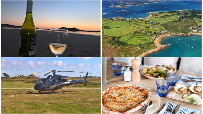 Holiday Offers for Helicopter Charters to Tresco