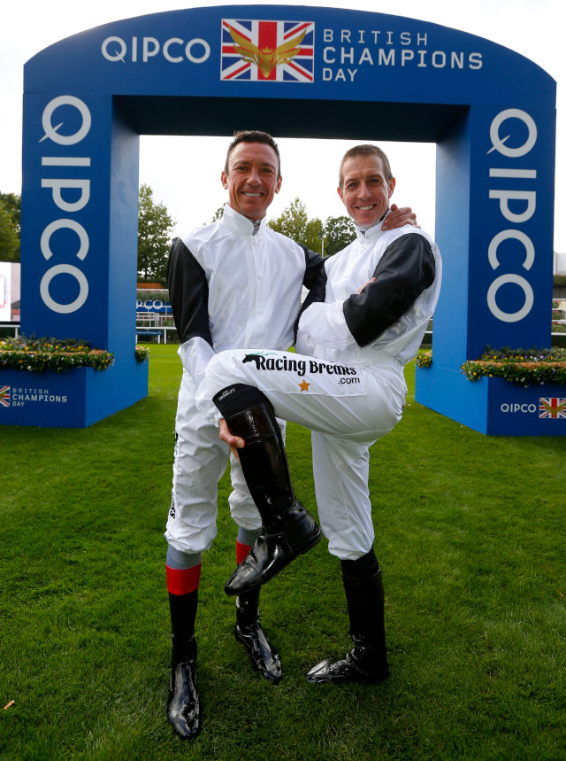 Meet Their Ambassadors: Frankie Dettori and Jim Crowley