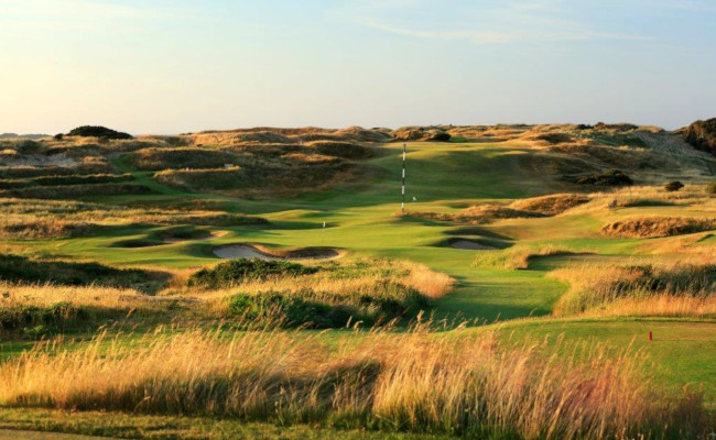 13th hole Royal Portrush