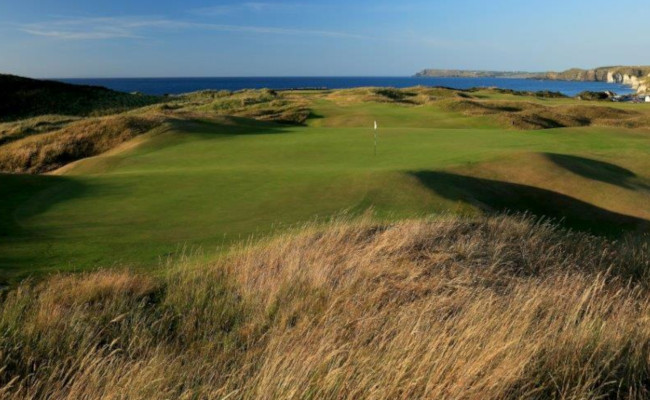 6th hole Royal Portrush