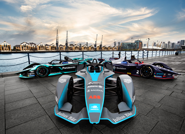 Formula E 2020 at the ExCel Arena, London - 25 & 26 July