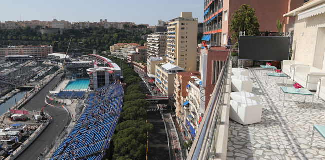 Monaco Grand Prix Hospitality Options