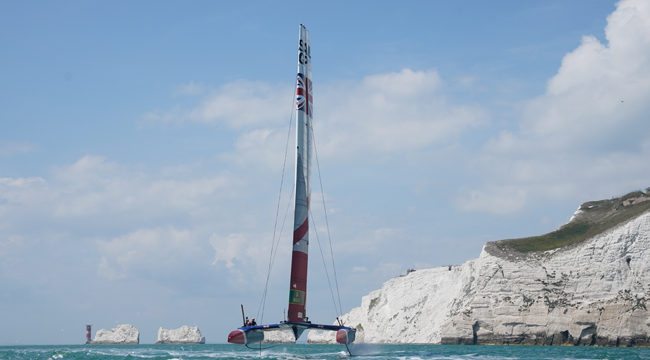 Great Britain Takes On The Sailing World