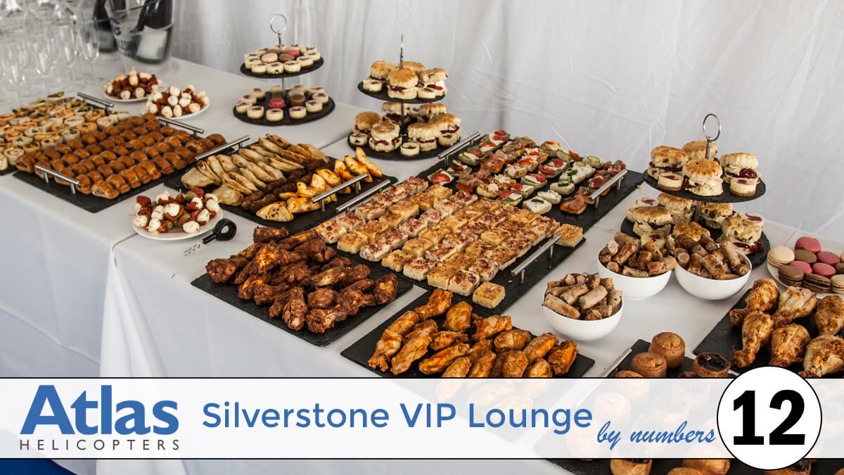 Silverstone VIP Lounge By Numbers