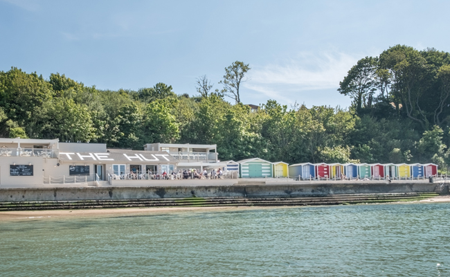 The Hut, Colwell Bay, Isle of Wight