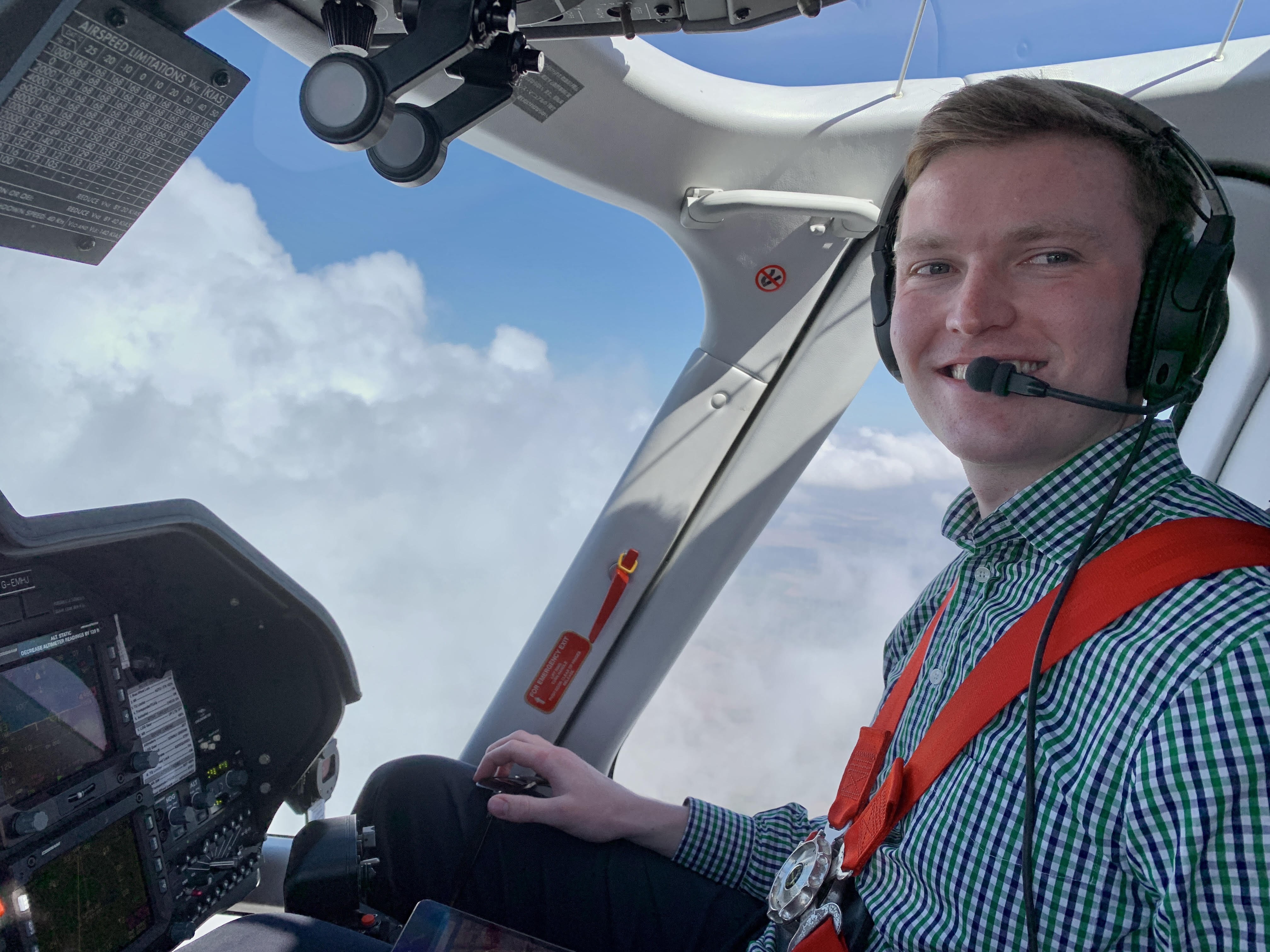 journey to becoming a helicopter pilot