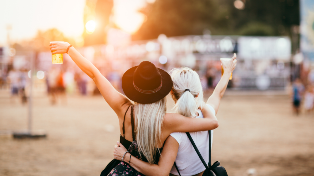 Travel by private helicopter for the ultimate festival VIP experience